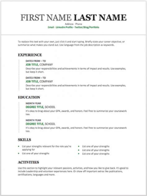 resume templates   customize  microsoft