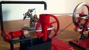 Moteur à Eau : moteur stirling avec pompe eau youtube ~ Medecine-chirurgie-esthetiques.com Avis de Voitures
