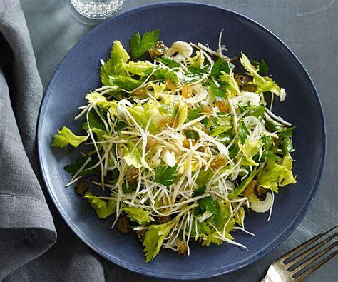 celery root celery heart  celery leaf salad recipe