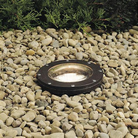 in ground well light kichler in ground low voltage well light 15194az