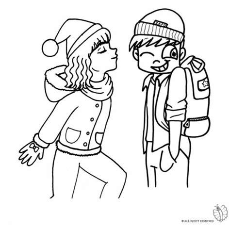disegni colorati ragazze disegno di bacio tra ragazzi da colorare per bambini