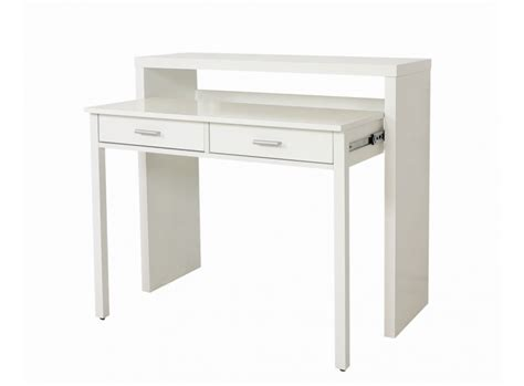 table pour pc de bureau console bureau sisko le deco tendency