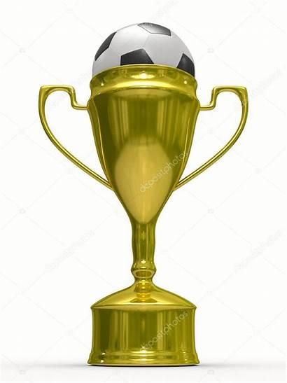 Voetbal Beker Winnaar Cup Soccer Gouden Ball