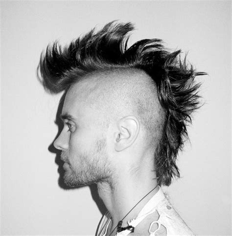 2014 formal hairstyles: Extreme men mohawk haircuts
