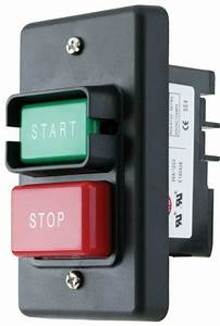 Electric On Off Switch Red Stop Green Start Push Button 110  220 Control