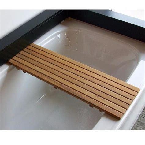 Teak Bathtub Shelfseat Teakworks4u