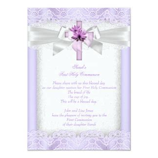 First Holy Communion Invitations & Announcements Zazzle
