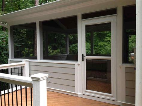 screened in porch doors screen door with screen porch doors side deck and larson
