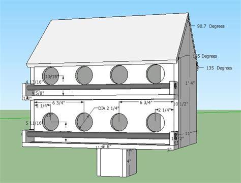 decorative form house design wooden purple martin birdhouse plans