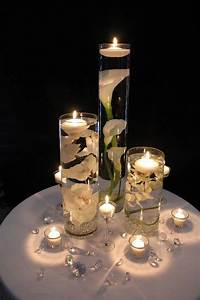Wodnerful, Diy, Unique, Floating, Candle, Centerpiece, With, Flower