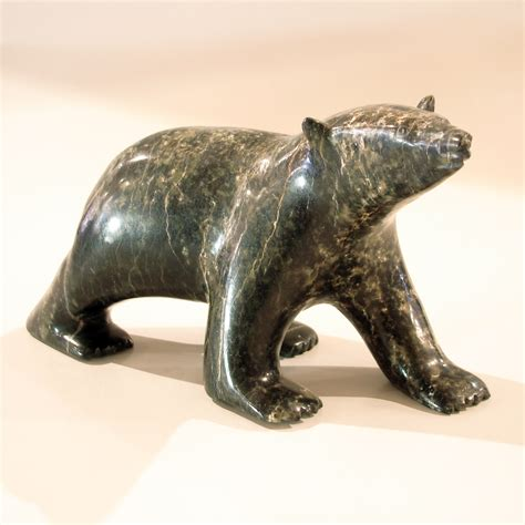 soapstone carving soapstone polar by noah