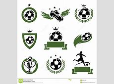 Football And Soccer Labels And Icons Set Vector Royalty