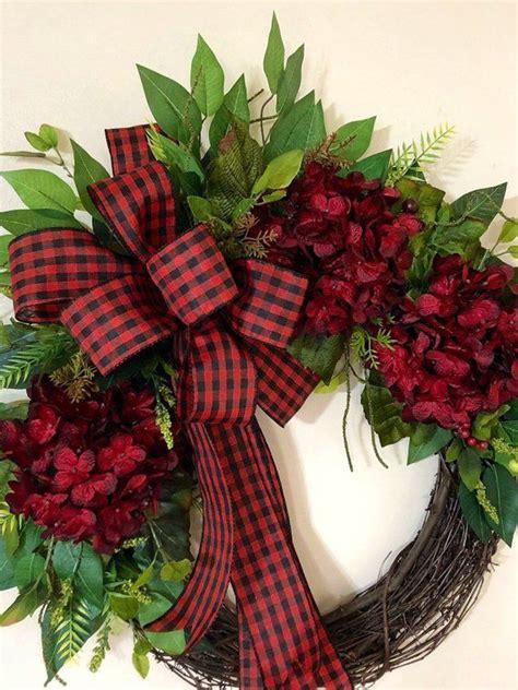 farmhouse wreath christmas decor holiday wreaths buffalo