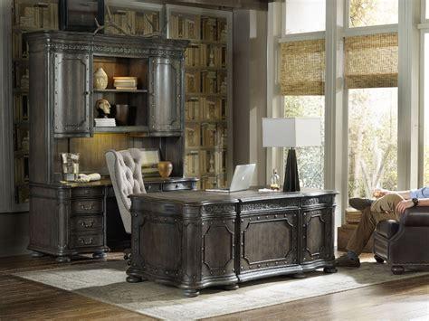 Hooker Furniture Home Office Vintage West Executive Desk
