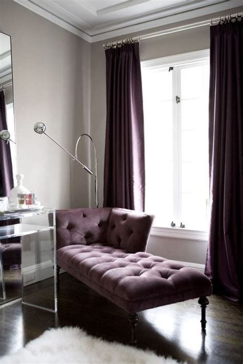 grey and purple living room curtains how to use purple in stunning looking living rooms