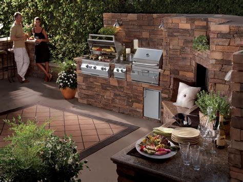 outdoor bbq kitchen ideas backyard bbq ideas for small area call rock