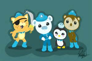 Octonauts Captain Barnacles Clip Art