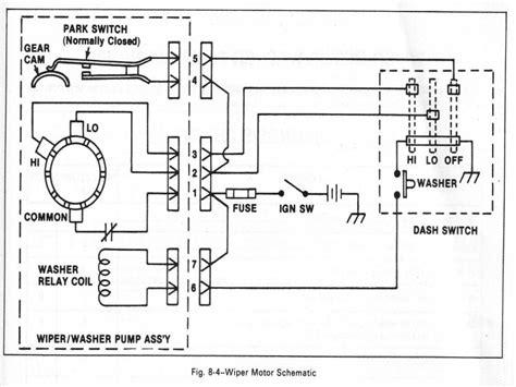 windshield wiper motor wiring diagram impremedia net