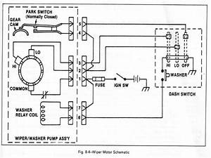 1967 Chevrolet Wiper Motor Wiring Diagram