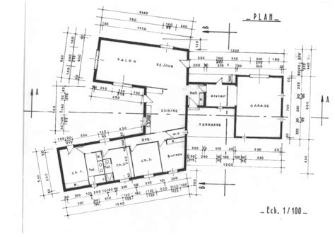 chambres avec vue rouen décoration plan plain pied 5 chambres 150m2 35 plan