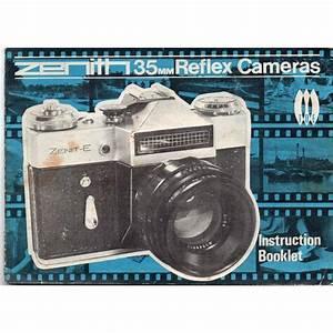 Toe Zenith 35mm Reflex Cameras Instruction Manual On Ebid