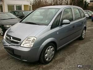 Opel Meriva 1 7 Cdti : 2004 opel meriva 1 7 cdti air 4 car photo and specs ~ Medecine-chirurgie-esthetiques.com Avis de Voitures