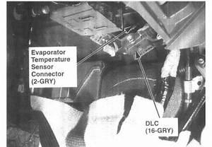 Evaporator Temperature Sensor  Diagnostic Trouble Code