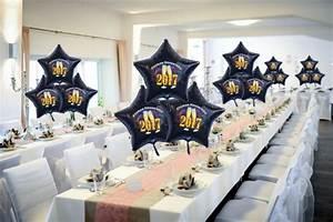 Silvester Deko 2017 : dekoration silvester f r gastgeber gastronomie und veranstalter dekoration zu silvester und ~ Frokenaadalensverden.com Haus und Dekorationen