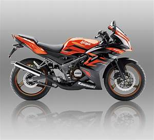 2015 Kawasaki Ninja Krr Zx150  Orange