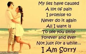 I am Sorry Messages for bf or gf - I m Sorry Apology ...