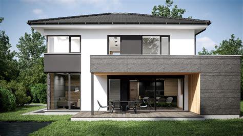 Modernes Haus Walmdach by Walmdachh 228 User Fertigh 228 User Mit Walmdach Musterhauspark
