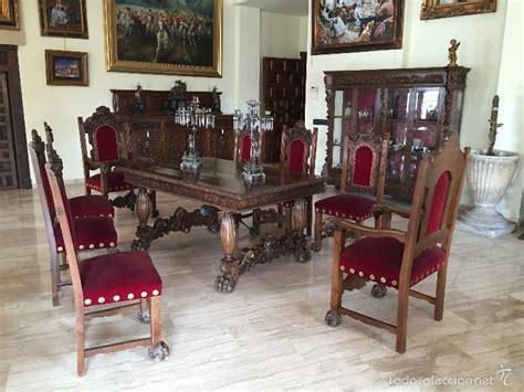 comedores antiguos en venta comedor antiguo renacimiento nogal comprar mesas
