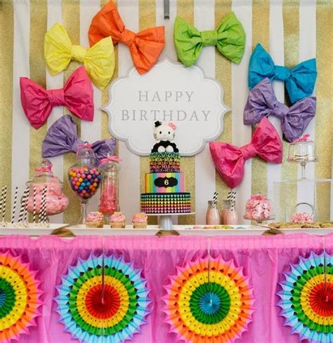 kitty birthday party bickiboo party supplies