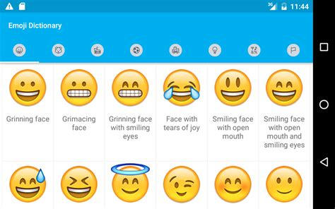 emoji meanings android emoji meaning emoticon free 1 0 apk android