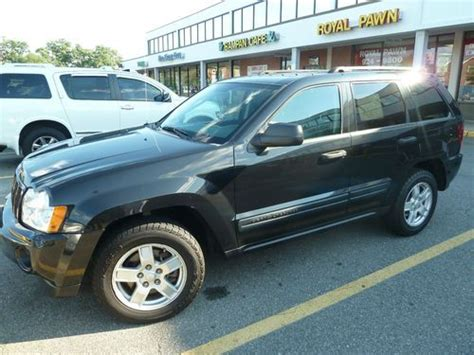 jeep cherokee sport 2005 purchase used 2005 jeep grand cherokee laredo sport