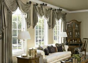 Finish Dressing Window Ruffell Brown Window Fashion Unique And Special Curtain Designs For House Interior