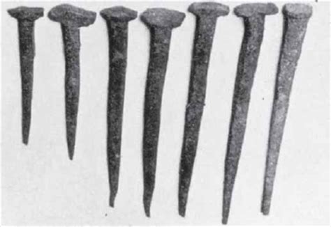 Old Boat Nails by Nails As Clues To Age