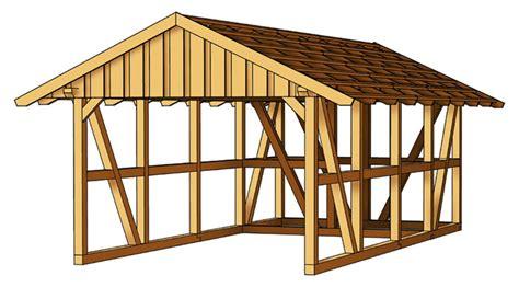 Holzcarport Skanholz «schwarzwald Einzelcarport Mit Dach