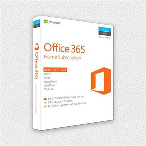 Microsoft Office 365 Home Premium (5 Licenses Pc Mac
