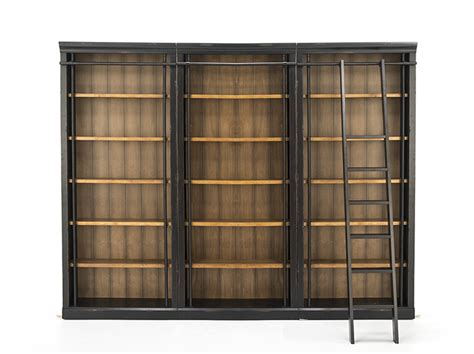 Bookcase Ls by Toulouse Bookcase Wall With Ladder Steinhafels