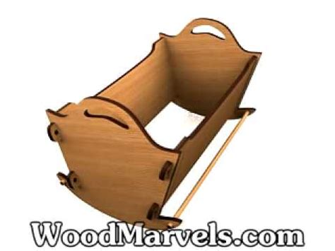 build   wooden baby rocker youtube