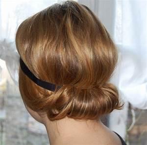 Chignon Cheveux Mi Long : chignon ~ Melissatoandfro.com Idées de Décoration
