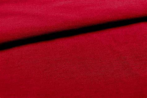 Bengaline Stretchstoff  Uni Rot