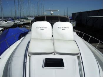 Boat Bow Lounger Cushions by Great Lakes Marine Innovations Announces Their