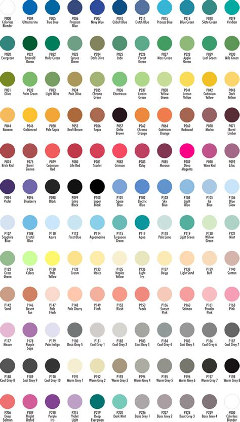 apple barrel paint colors chartpak ad marker