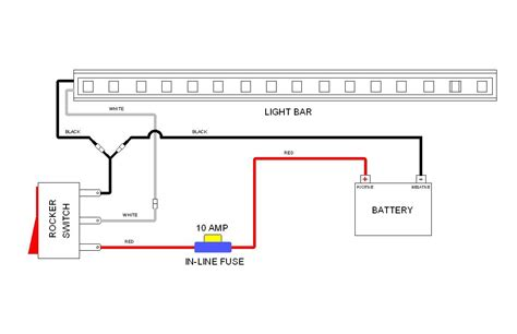 Wiring Diagram For Relay Light Bar by Road Light Wiring Diagram No Relay Camizu Org