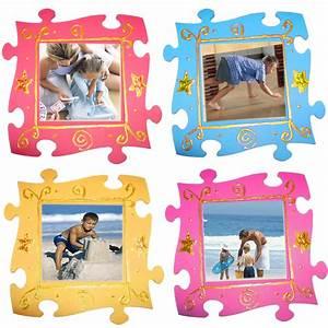 Fabriquer Un Cadre Photo : cadre princesse puzzle t te modeler ~ Dailycaller-alerts.com Idées de Décoration