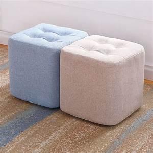 Fabric, Small, Stool, Sofa, Stool, Creative, Bench, Family, Small, Chair, Furniture, Foot, Stool, Vanity