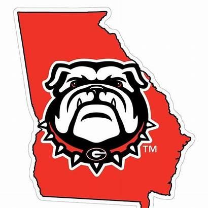 Bulldog Georgia Bulldogs State Uga Clipart Clip