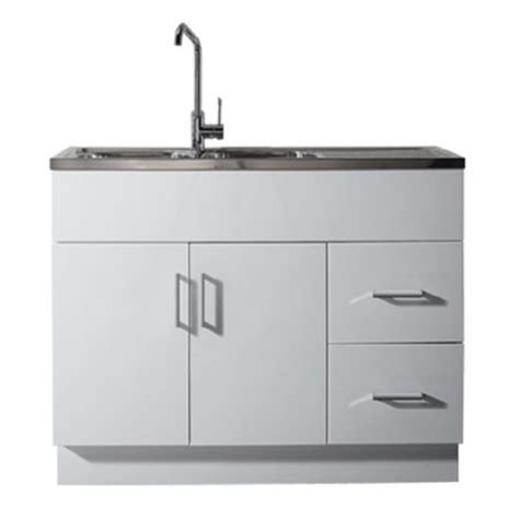 cheap black kitchen sink laundry tub cabinets builders warehouse 5239